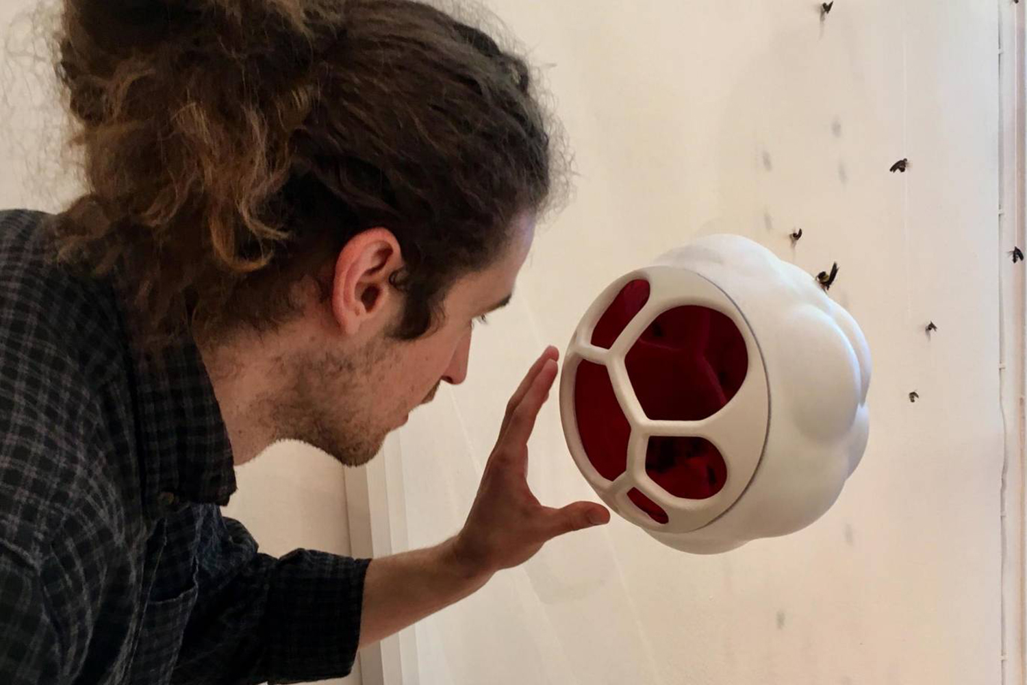 Generative design 3d-printed beehive